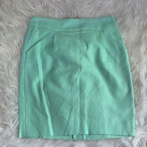 NWT J Crew Pencil Skirt in Double-Serge Cotton